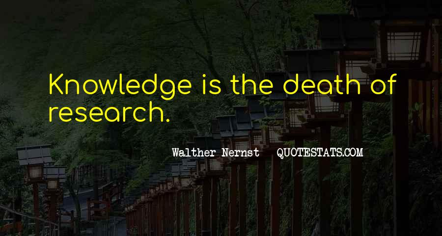 Walther Nernst Quotes #1510367