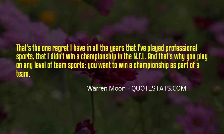 Warren Moon Quotes #1003716