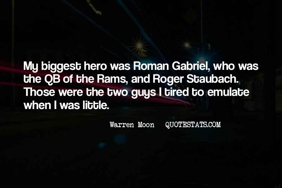 Warren Moon Quotes #842933