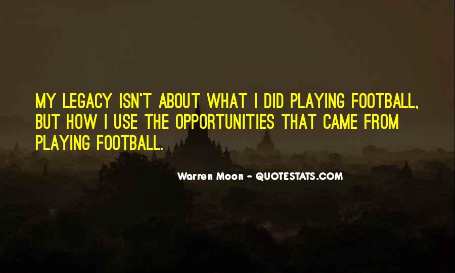 Warren Moon Quotes #855018