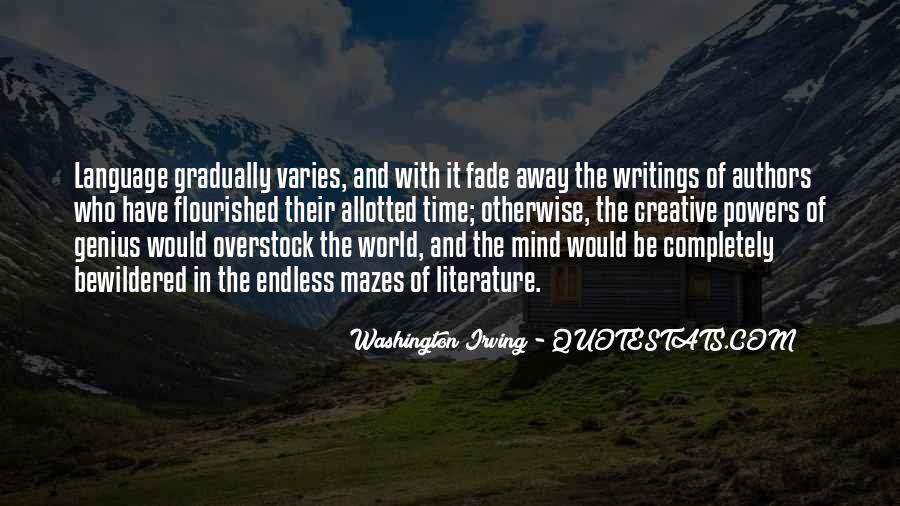 Washington Irving Quotes #1363138