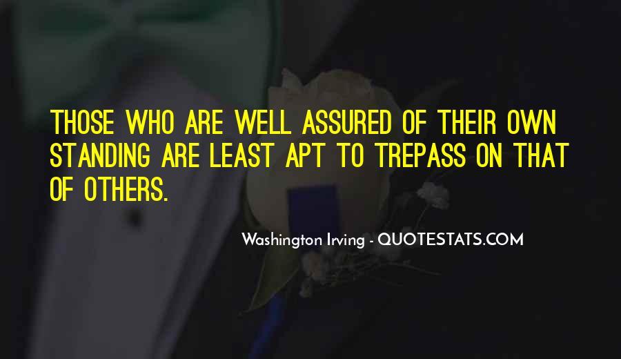 Washington Irving Quotes #1406171
