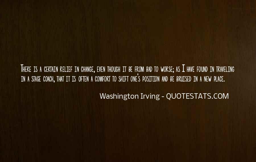 Washington Irving Quotes #527634