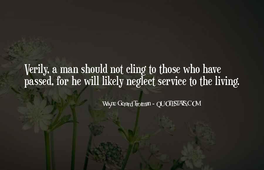 Wayne Gerard Trotman Quotes #129881