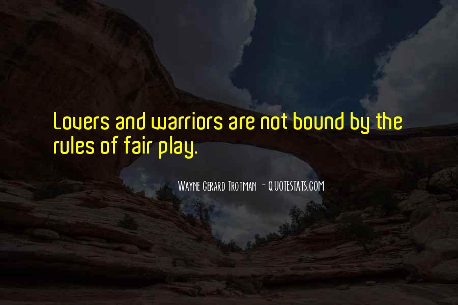 Wayne Gerard Trotman Quotes #1453718