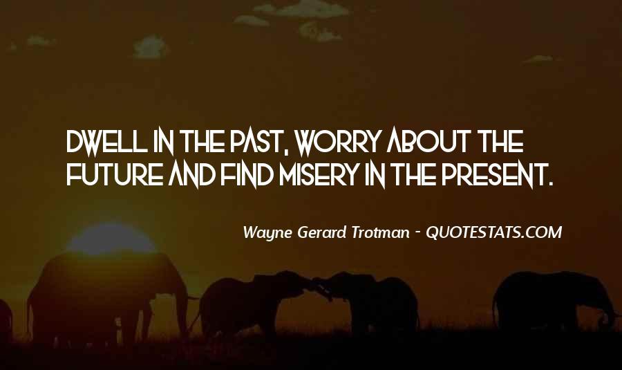 Wayne Gerard Trotman Quotes #1527487