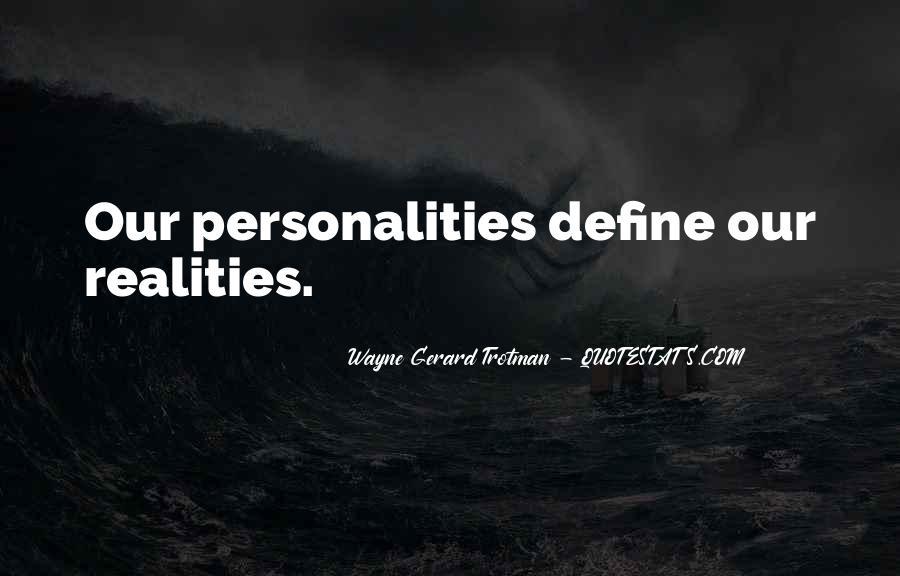 Wayne Gerard Trotman Quotes #1756179