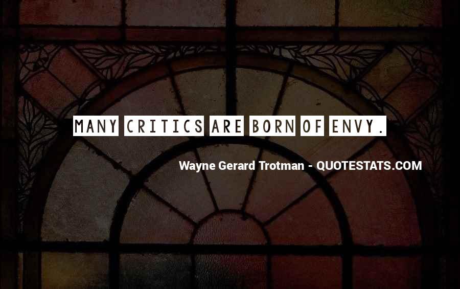 Wayne Gerard Trotman Quotes #351667