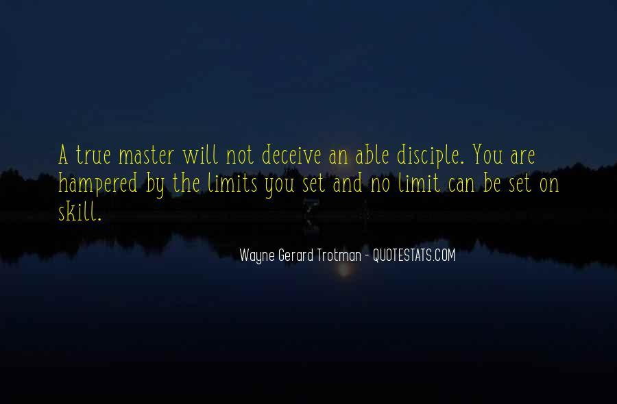 Wayne Gerard Trotman Quotes #4506