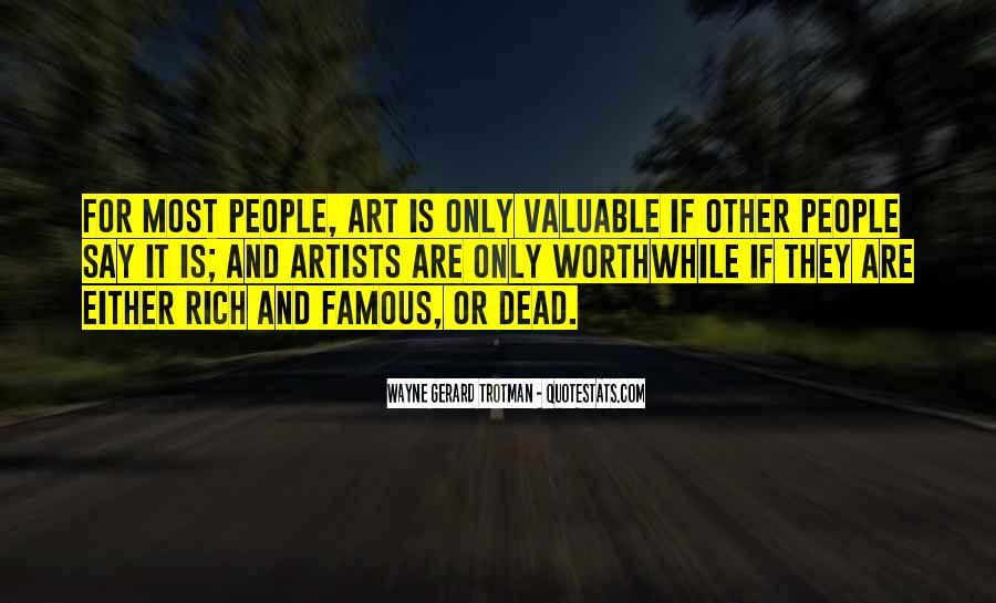 Wayne Gerard Trotman Quotes #493164