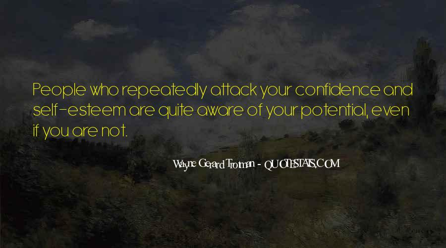 Wayne Gerard Trotman Quotes #63356