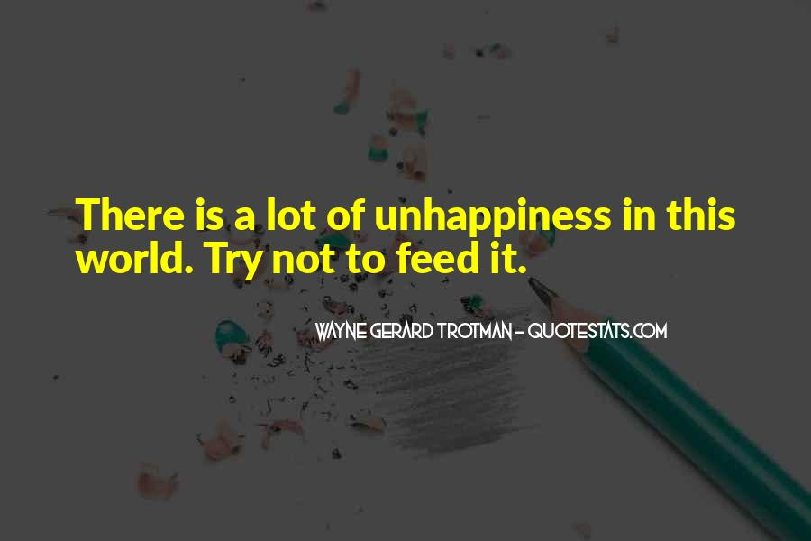 Wayne Gerard Trotman Quotes #924170