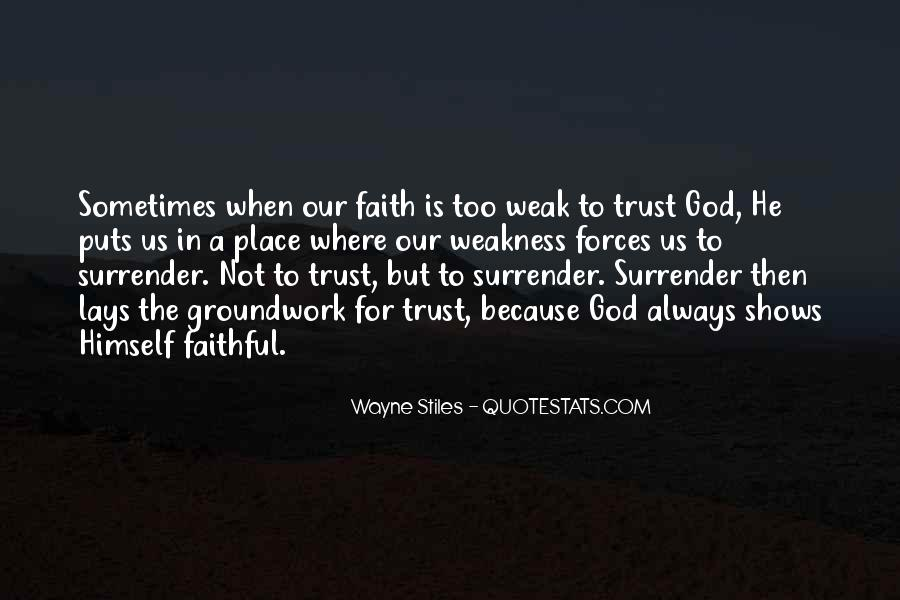 Wayne Stiles Quotes #30678