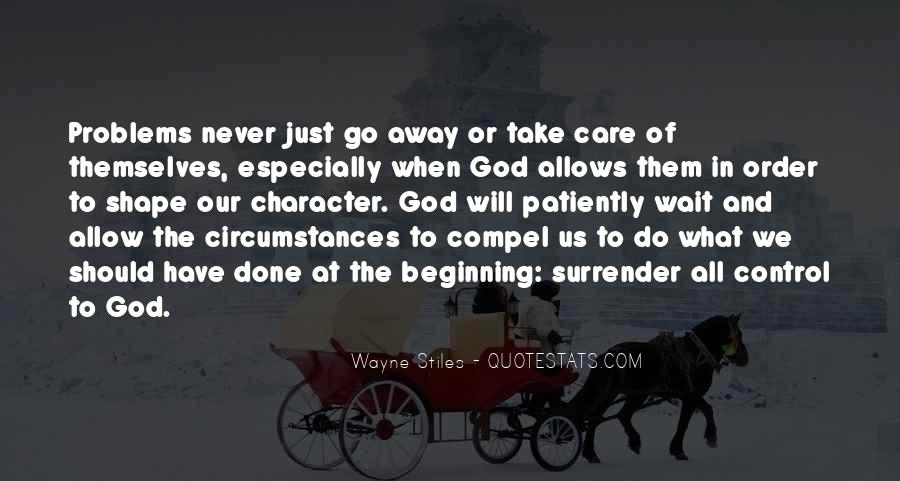 Wayne Stiles Quotes #49802