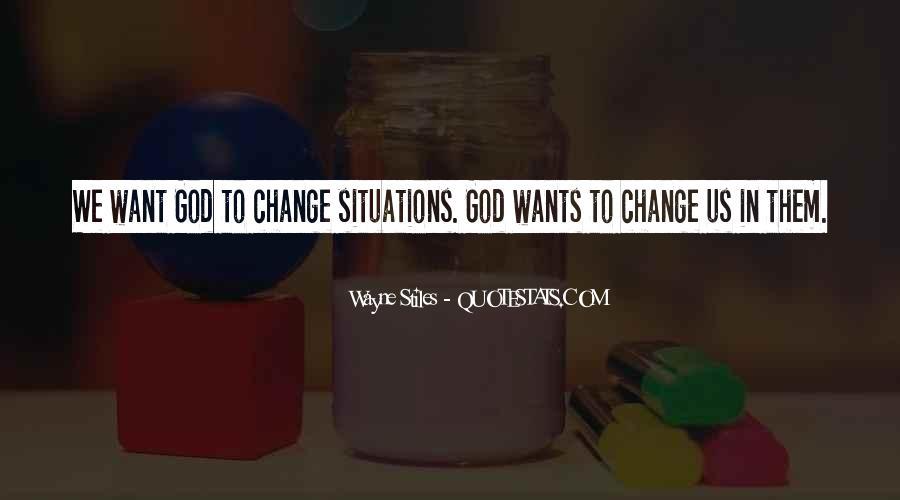 Wayne Stiles Quotes #754122