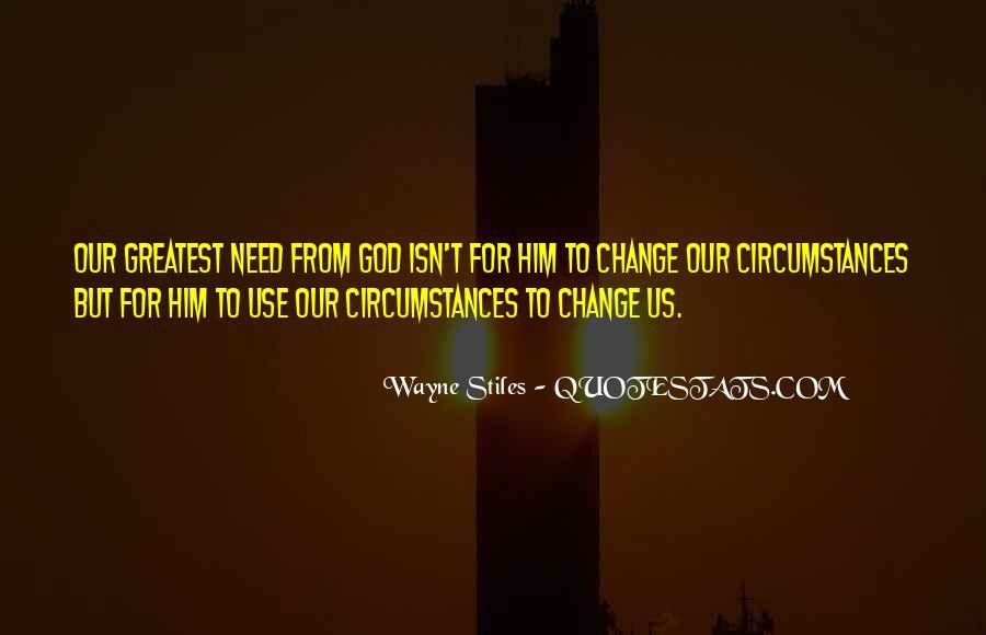 Wayne Stiles Quotes #856931