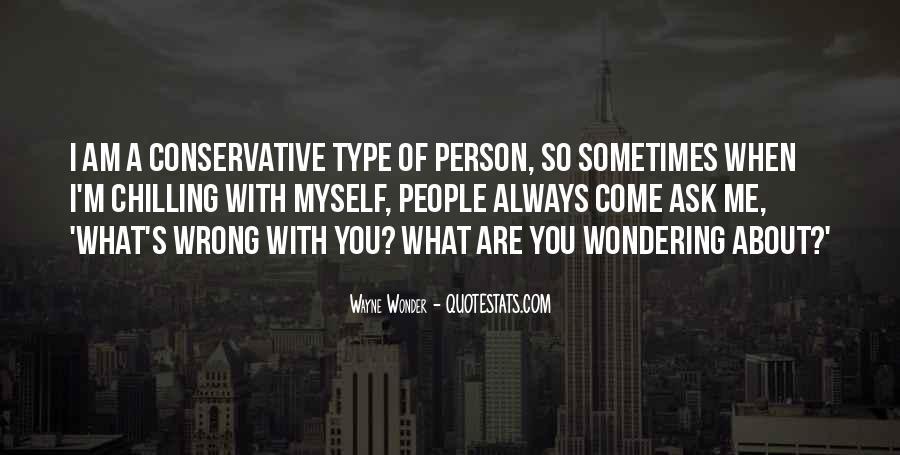 Wayne Wonder Quotes #403781