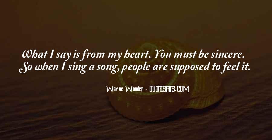 Wayne Wonder Quotes #633677