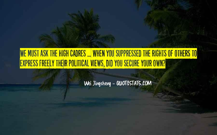 Wei Jingsheng Quotes #558980
