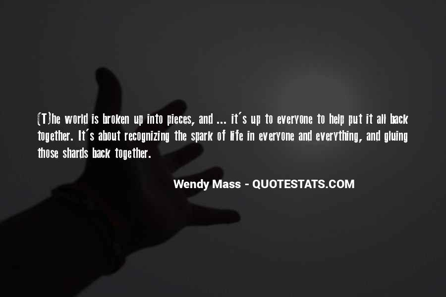 Wendy Mass Quotes #1474813