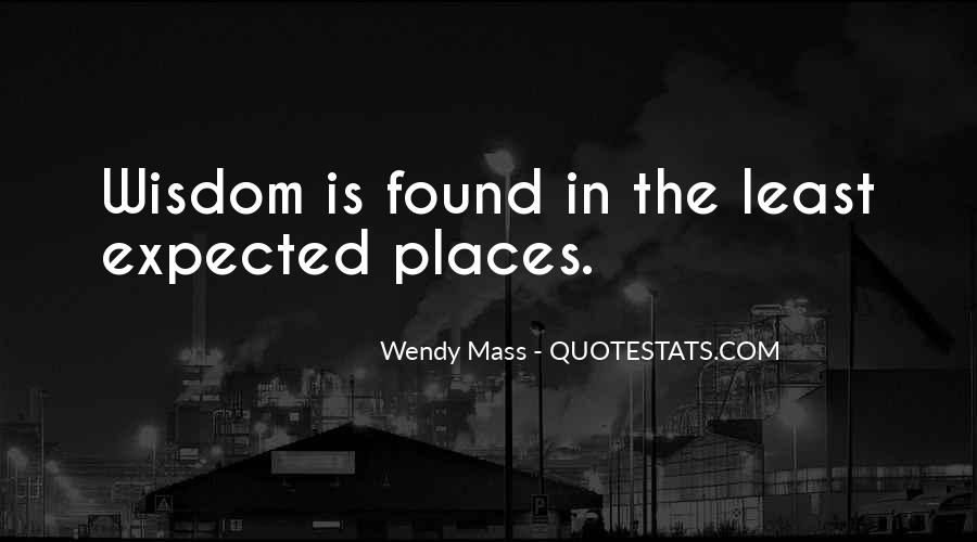 Wendy Mass Quotes #1593523