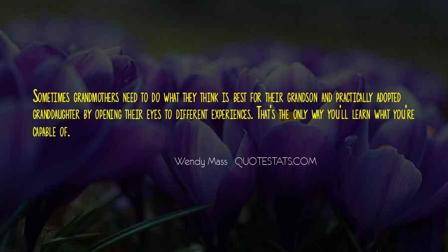 Wendy Mass Quotes #189848