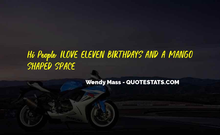 Wendy Mass Quotes #407494