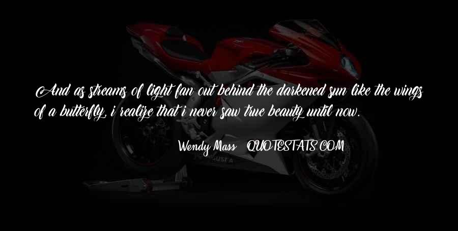 Wendy Mass Quotes #82521