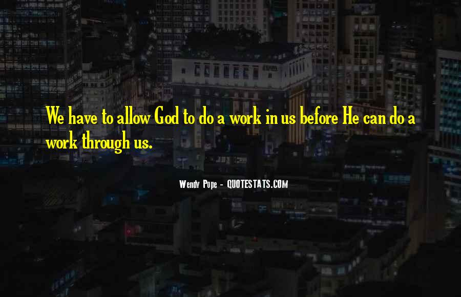 Wendy Pope Quotes #366145