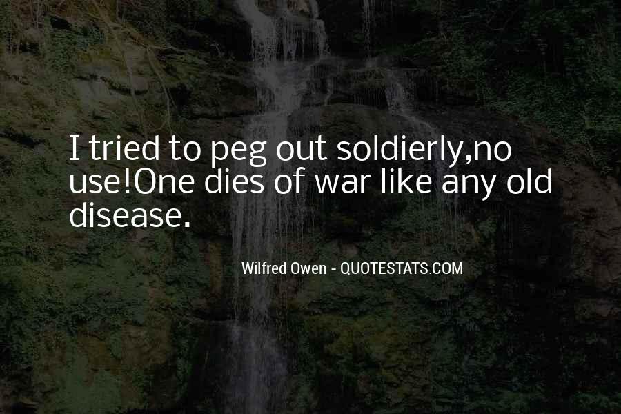 Wilfred Owen Quotes #1016492