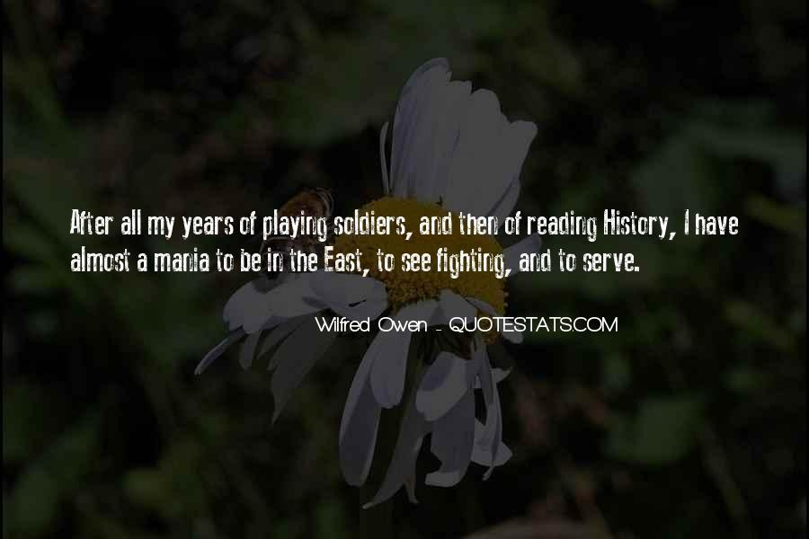 Wilfred Owen Quotes #1041648