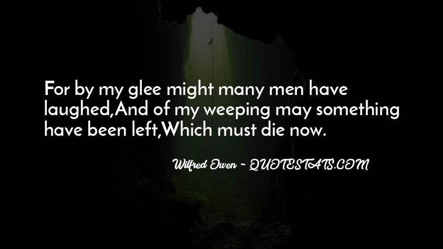 Wilfred Owen Quotes #1082388