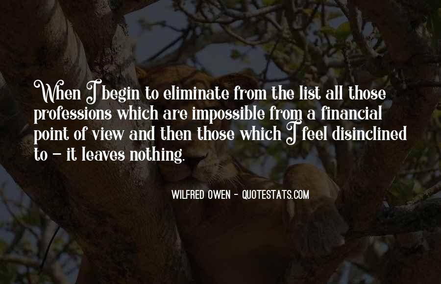 Wilfred Owen Quotes #1321442