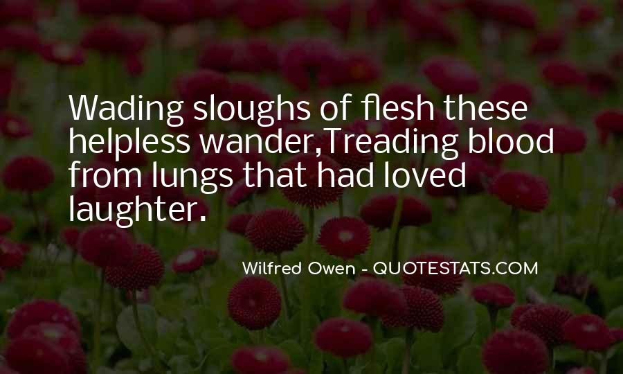 Wilfred Owen Quotes #1409102