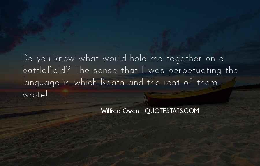 Wilfred Owen Quotes #146458