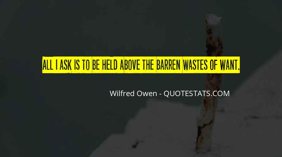 Wilfred Owen Quotes #184677
