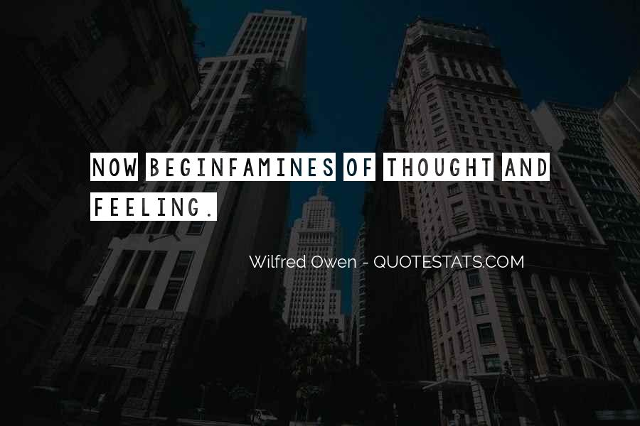 Wilfred Owen Quotes #190572
