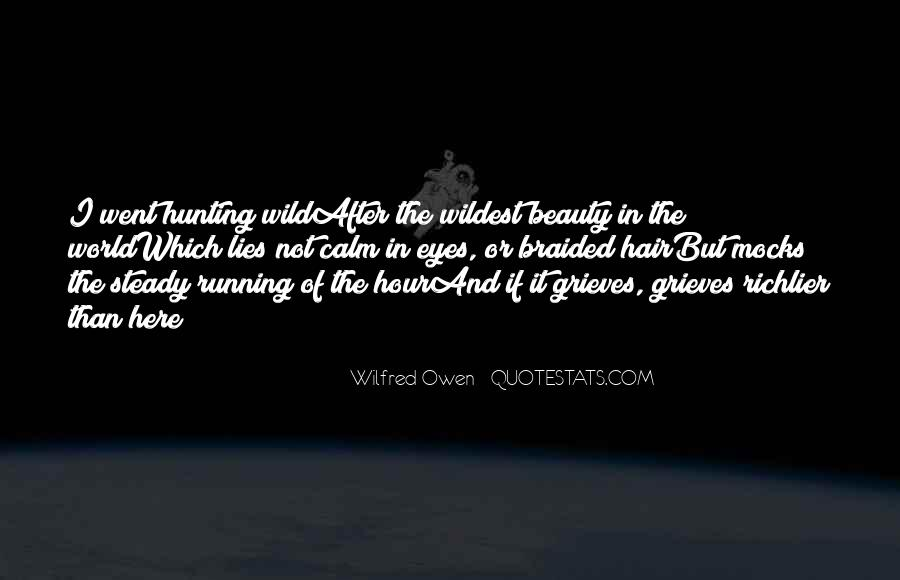 Wilfred Owen Quotes #238844