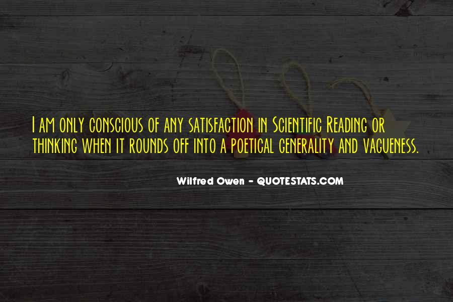 Wilfred Owen Quotes #326497