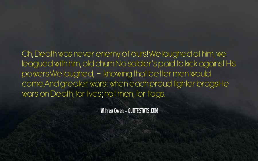Wilfred Owen Quotes #327735
