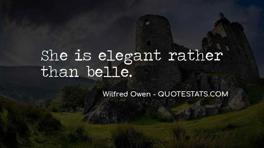 Wilfred Owen Quotes #437994