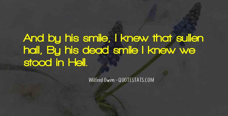 Wilfred Owen Quotes #496169