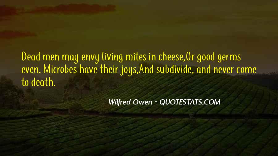 Wilfred Owen Quotes #520927