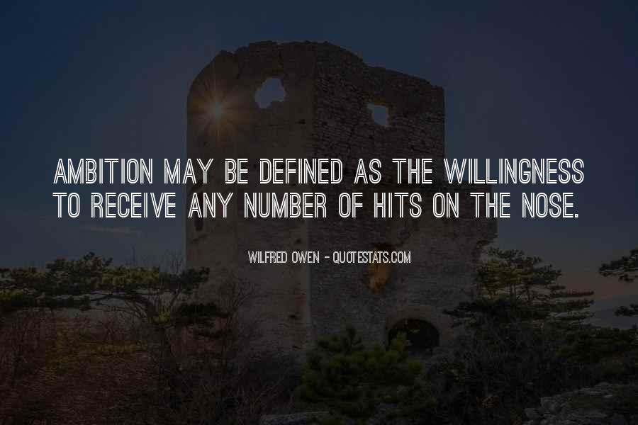 Wilfred Owen Quotes #571422