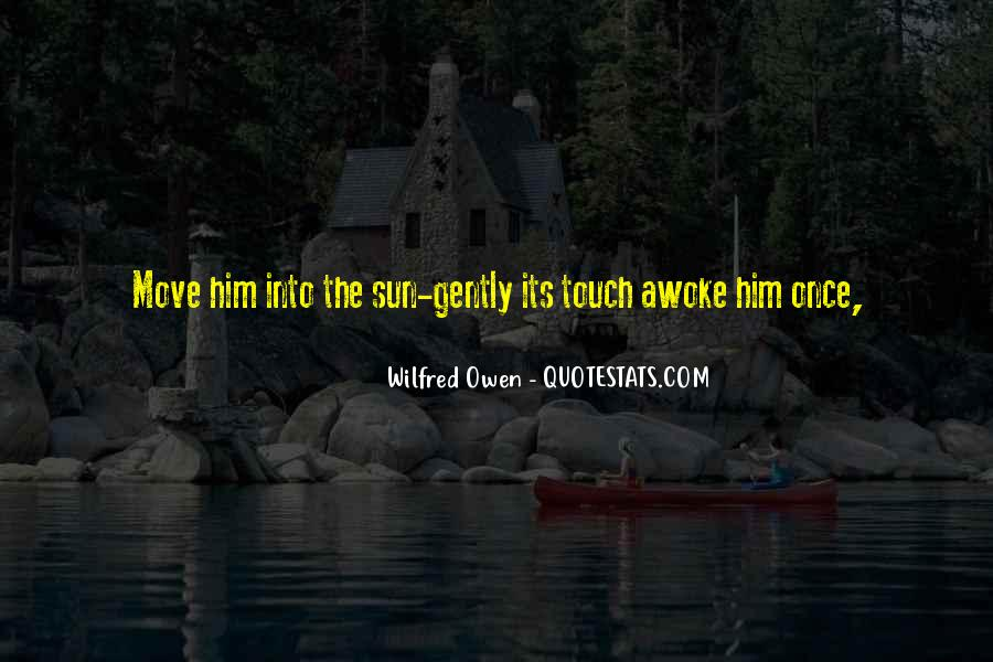 Wilfred Owen Quotes #64341