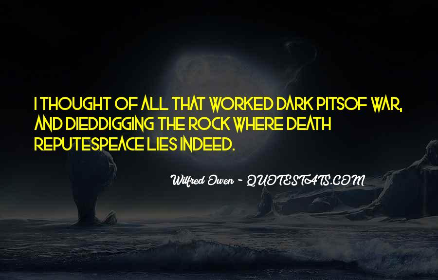 Wilfred Owen Quotes #718007