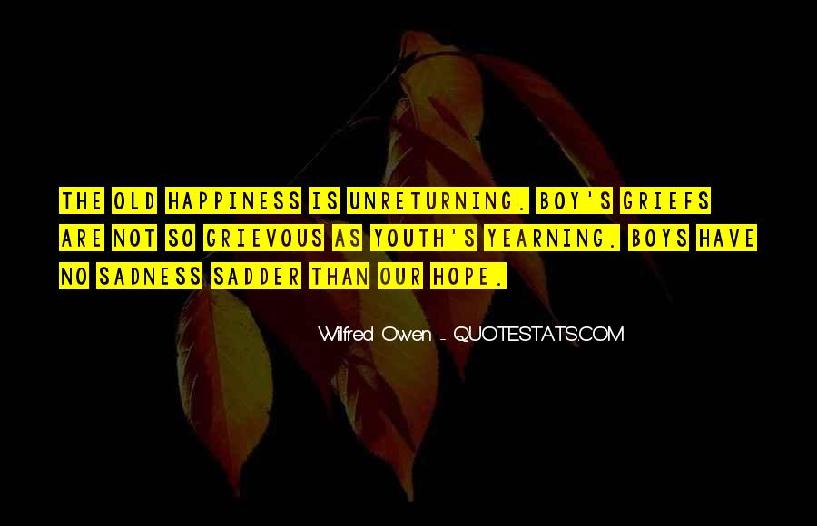 Wilfred Owen Quotes #776691