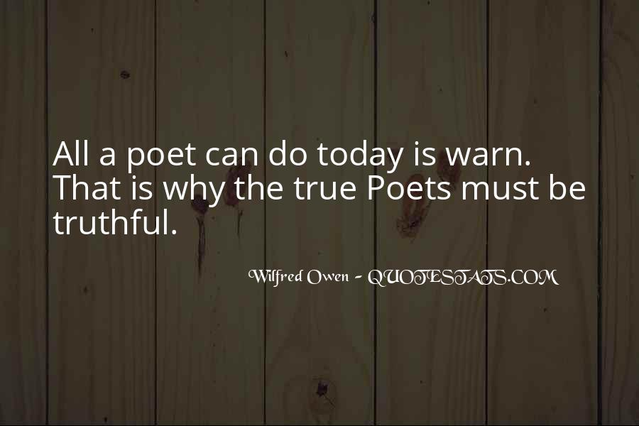 Wilfred Owen Quotes #780710