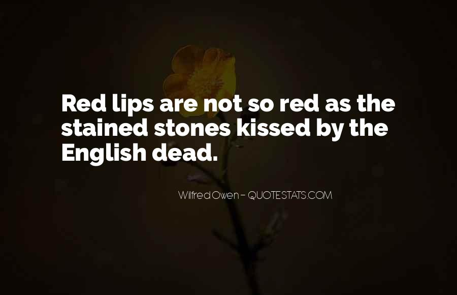 Wilfred Owen Quotes #784654