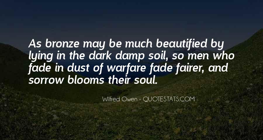 Wilfred Owen Quotes #950596
